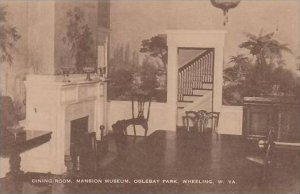 West Virginia Wheeling Dining Room Mansion Museum Oglebay Park Artvue
