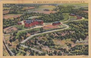 West Virginia Huntington Aerial View Of U S Veterans' Hospital 1945 Curt...