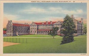 Forest Hall, Middlebury College, Middlebury, Vermont, 30-40s