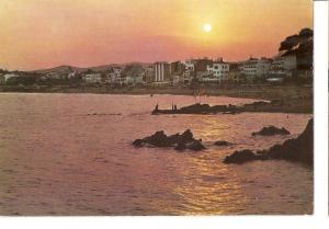 Postal 046559 : Costa brava. Lloret de Mar. Atardecer