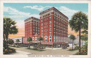 Florida Saint Petersburg Princess Martha Hotel