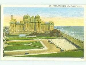 Unused W-Border TRAYMORE HOTEL Atlantic City New Jersey NJ hr8810