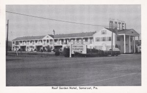SOMERSET, Pennsylvania, 1940-60s; Roof Garden Motel