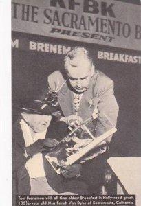 California Hollywood Tom Brennan's Breakfeast In Hollywood 105 1/2 Year ...
