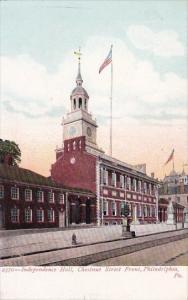 Pennsylvania Philadelphia Independence Hall Chestnut Street Front