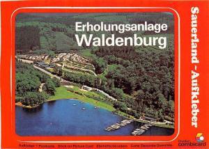 Erholungsanlage Waldenburg Hafen Schiff Harbour Camping General view