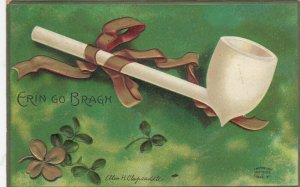 ST PATRICK'S DAY ; Pipe , Ellen Clapsaddle , 1911