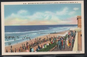 North Carolina colour PC Bathing Lumina  Wrightsville Beach, N.C.  unused