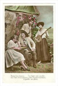 Paul et Virgine, Girl with Banjo, 00-10s