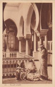 Africa Scenes et Types Palais arabe