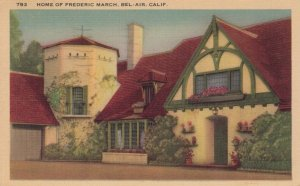 BEL-AIR, LOS ANGELES , California  , 1941; Home of Frederic March