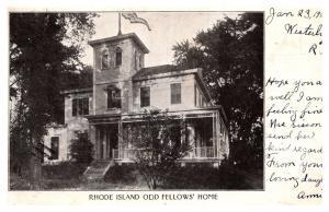 Rhode Island  Odd Fellows Home