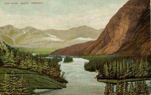 Canada - Alberta, Banff. Bow river