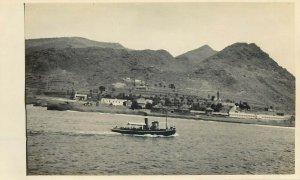 Belgian Congo real photo steamer ship