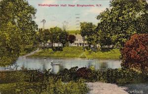 New York Binghamton Washingtonian Hall 1910