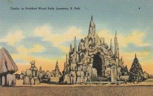 LEMMON, South Dakota, 1930-40s; Castle, in Petrified Wood Park