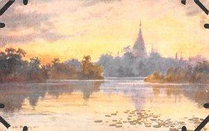 Shwe Dagon Burma, Myanmar Unused