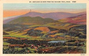 USA Mt. Greylock as Seen from the Mohawk Trail, Mass Panorama