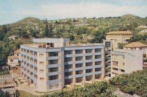 Santa Isabel Hotel Birds Eye Madeira Portugal Postcard