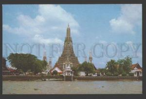 109138 THAILAND BANGKOK Wat Arun Temple of Dawn Old postcard
