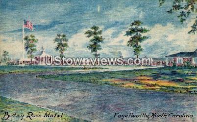 Betsy Ross Motel Fayetteville NC Unused