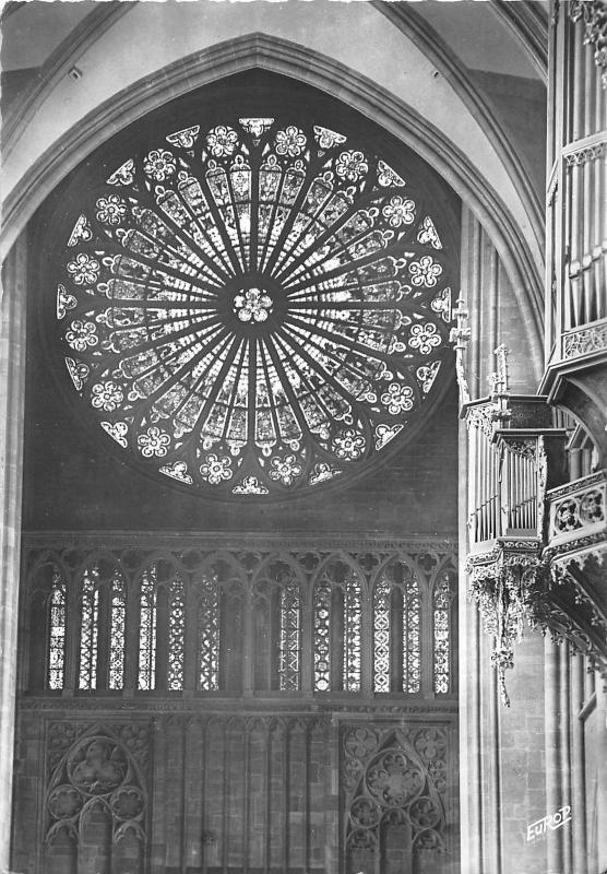 BF40548 starsbourg la rosace de la cathedrale france  stained glass vitraux
