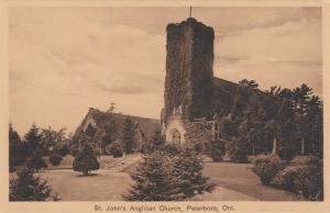 PETERBORO , Ontario , 1910s ; St John's Anglican Church
