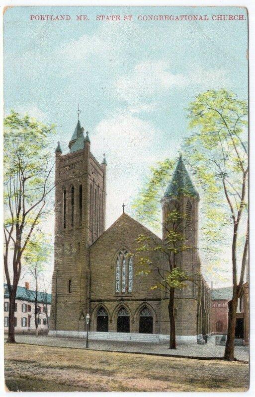 Portland, Me, State St. Congregational Church