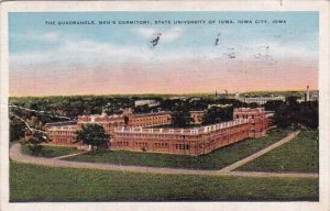 The Quadrangle Mens Dormitory State University Of Iowa Iowa City Iowa 1937