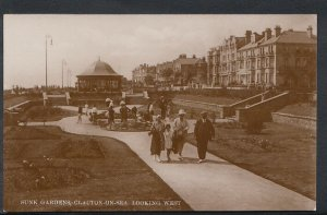 Essex Postcard - Sunk Gardens, Clacton-On-Sea Looking West  RS5181
