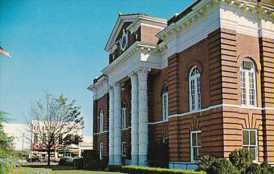 Alabama Talladega County Courthouse