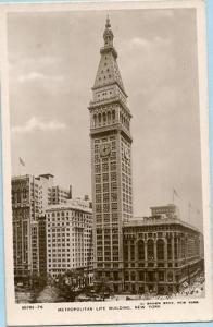 NY - New York City, Metropolitan Life Building