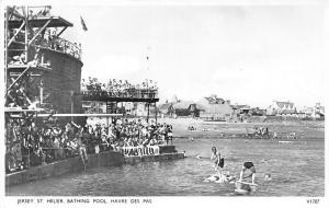 C.I. Jersey St. Helier Bathing Pool Havre Des Pas, Swimwear 1956