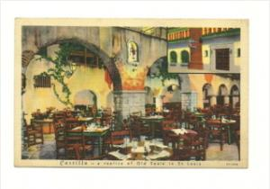 Missouri St. Louis  Castilla Restaurant Interior Dinning Room