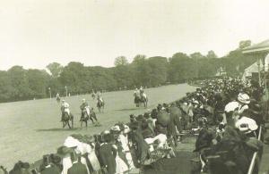 Nostalgia Postcard England v Ireland at Polo June 1910 Reproduction Card #N436