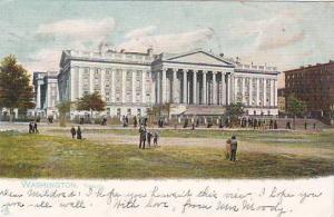 Exterior, Treasury, Washington,  PU-1908