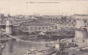 Le Grand Pont Et Le Pont Gueydon, Brest (Finistere), France, 1900-1910s