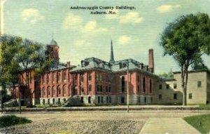 Androscoggin County Buildings in Auburn, Maine