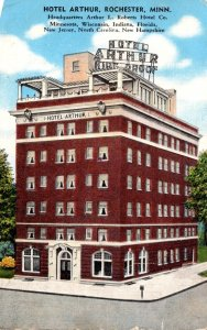 Minnesota Rochester Hotel Arthur