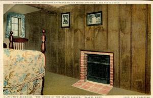 MA - Salem. House of Seven Gables. Clifford's Bedroom
