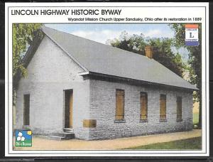 Ohio, Upper Sandusky, Wyandot Mission Church, unused
