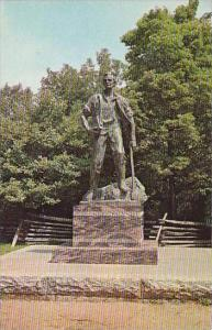 Illinois New Salem Lincoln Statue In New Salem State PArk
