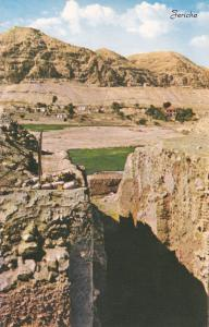 View Towards The Mount Of Temptation, JERICHO, Palestine, 40s-60s