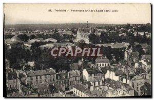 Postcard Old Versailles Panorama Taken from L & # 39Eglise Saint Louis