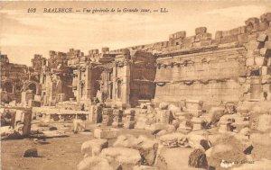 uk41856 voue generale  de la grande cour baalbek  lebanon