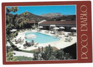 Poco Diablo Resort Hwy 179 Sedona Arizona c1988 4 by 6 Card