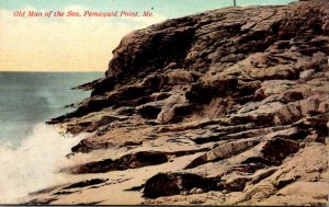 Maine Pemaquid Point Old Man Of The Sea