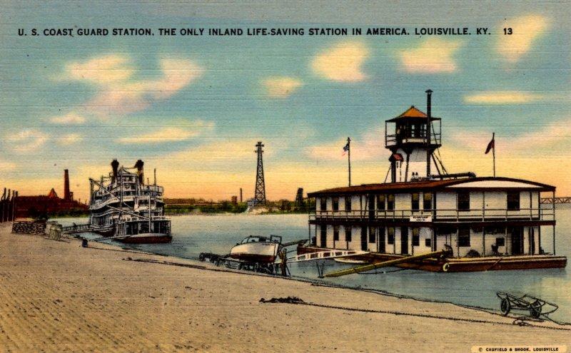 Louisville, Kentucky - U.S. Coast Guard Station - Inland Life-Saving Station