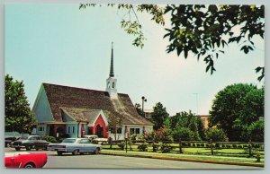 Rehoboth Beach Delaware~All Saints Episcopal Church~Vintage Postcard