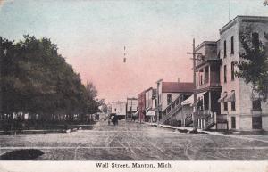 MANTON , Michigan, 00-10s ; Wall Street